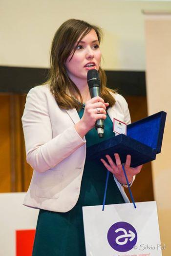 Radio Iaşi: Ana Maria Dogaru, cel mai valoros student Erasmus al anului